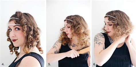 diy 1920s flapper hairstyles diy flapper costume a beautiful mess