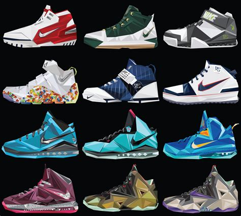 all lebron sneakers best all lebron shoes photos 2017 blue maize