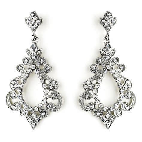 Chandelier Silver Earrings Silver Chandelier Earrings Chandelier Earrings Bridal Earrings Earrings