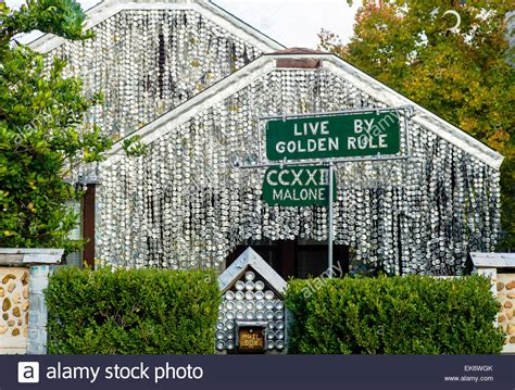 beer can house houston the beer can house a houston texas landmark covered decorated stock photo