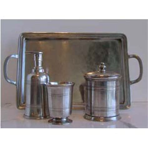 match pewter bath accessories