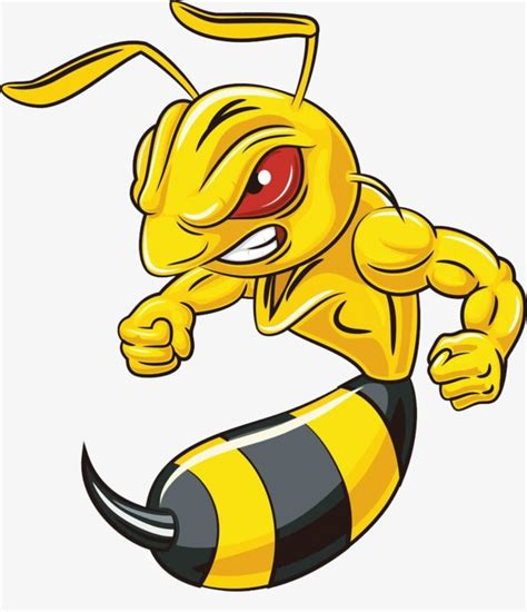 hornet clipart angry hornet angry clipart flying animals expression