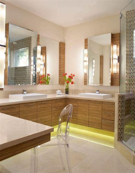 modern bathroom lighting for a more inviting bathroom decohoms 20 modern corner lighting ideas