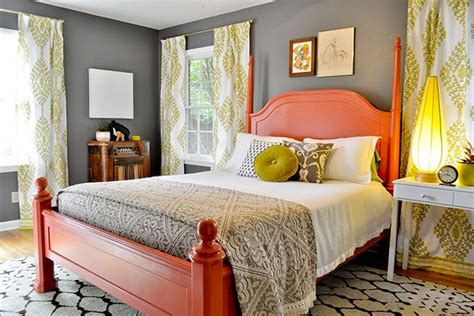 salmon color bedroom salmon chartreuse bedroom for the home pinterest