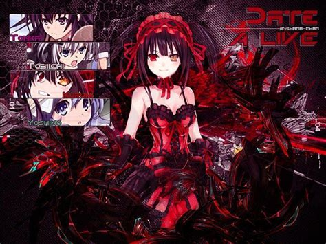 wallpaper anime date a live date a live wallpapers wallpaper cave