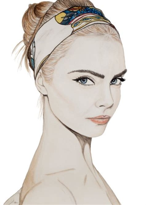 sketchbook cara 6 fashion illustrations we theglitterguide