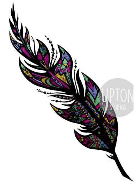 tribal feathers tattoos 17 best ideas about tribal feather tattoos on