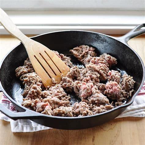 how to cook brown ground beef cooking lessons from the