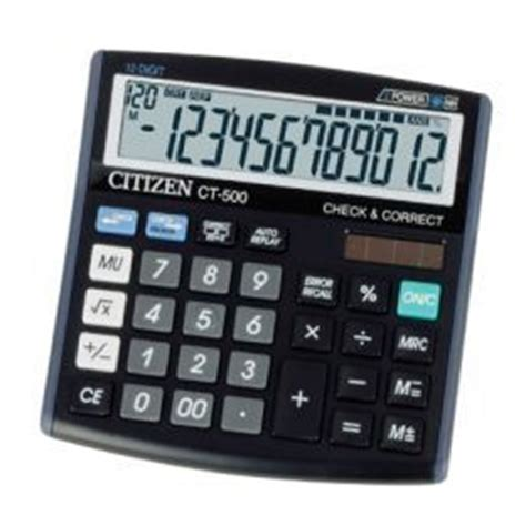 Calculator Citizen 12 Digit Bisa Check Back Correct citizen calculator in kowloon hong kong hong kong s a r aim industries limited