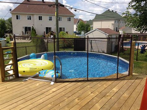 patio piscine cl 244 turer un patio de bois fencing a wooden deck