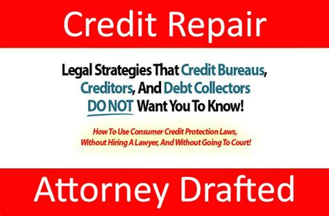 credit repair 10 proven steps to fix repair and raise your credit score fix your credit score book 1 books send you a 5 attorney written credit repair letters