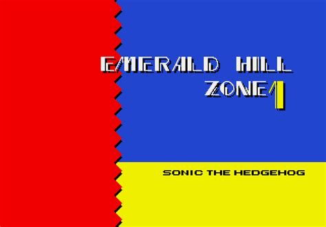 sonic 2 title card template sonic the hedgehog 2 level titles fonts in use