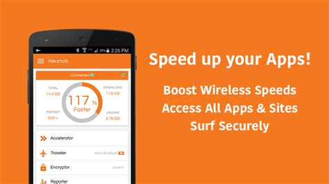 net speed booster apk neumob booster apk for android aptoide