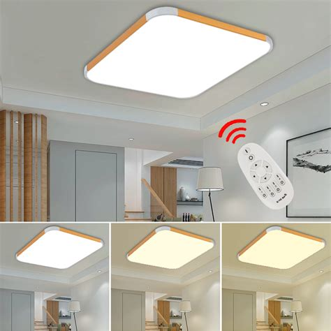 Kitchen Light Panels Energy Saving Led Panel Ceiling Light Corridor Kitchen Lighting Downlight 12w Ebay