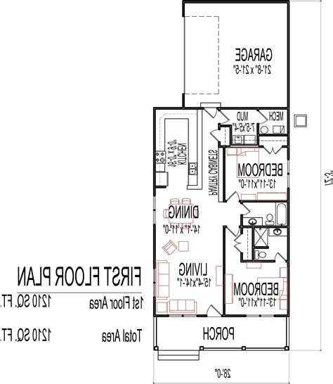 low cost 4 bedroom house plans low cost single story house plans