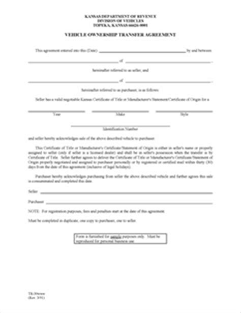 transfer of business ownership contract template form tr 39 fillable vehicle ownership transfer agreement