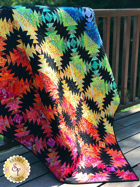 kaffe pineapple quilt kit video project