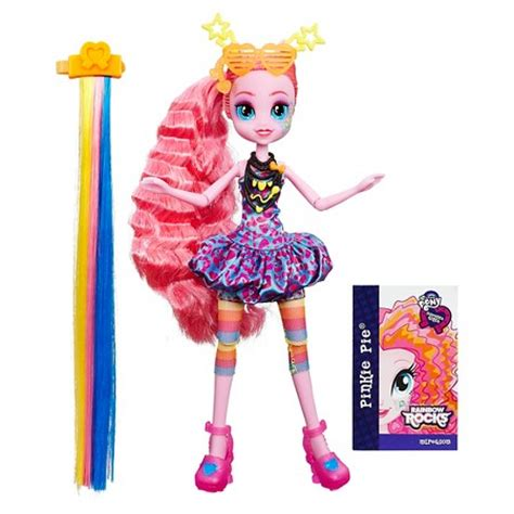 Equestria Rockin Hairstyle Dolls by My Pony Equestria Rainbow Rocks Pinkie Pie