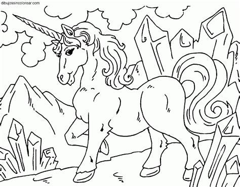 unicornio imagenes para pintar dibujos de unicornios para colorear