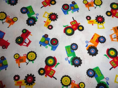 ebay quilting fabric tractors boys fabric farm trucks fabric cotton