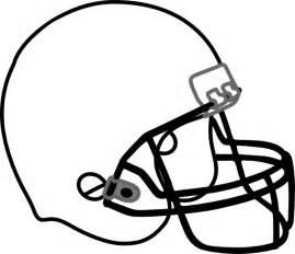 Football Helmet Outline Profile by Football Helmet Outline Clipart Best
