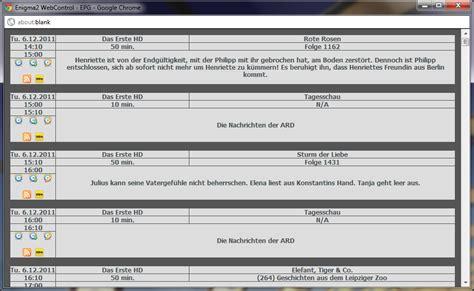 enigma film fehler runderneutertes webinterface f 252 r enigma2 mit