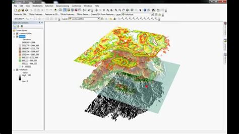 arcgis scene tutorial arcscene tutorial youtube