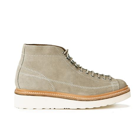 grenson s suede monkey boots sand free uk