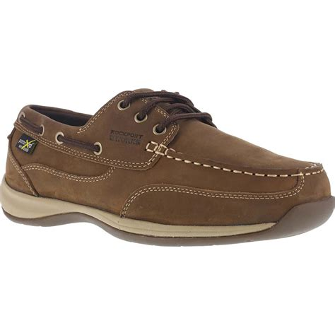 rockport boat shoes extra wide rockport works sailing club women s steel toe internal met