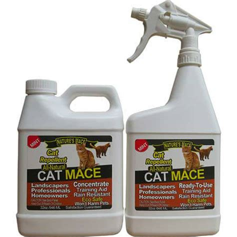 Pengusir Kucing Cat Repellent Spray Ready Stock cat mace 32oz ready to use spray plus 32oz concentrate nature s mace