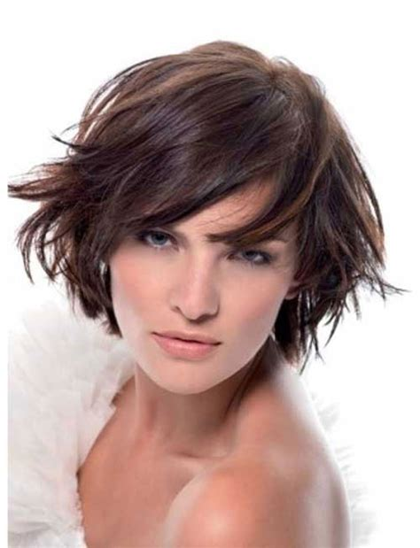 short layered bob hairstyles 2014 hair cuts for 2013 semi curly short hairstyle 2013