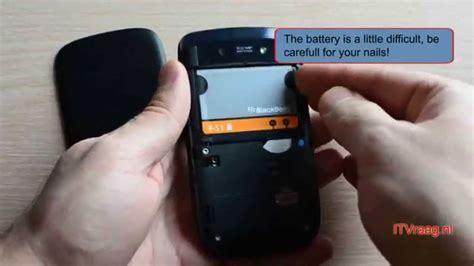 Battery Bb Torch blackberry torch 9800 removing backside battery sim sd