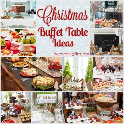 easy holiday buffet menu ideas 10 christmas buffet table ideas decorating files