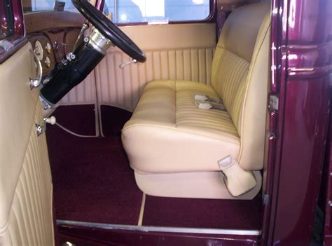 School Upholstery by S Upholstery 1934 Ford Up 1966 Impala