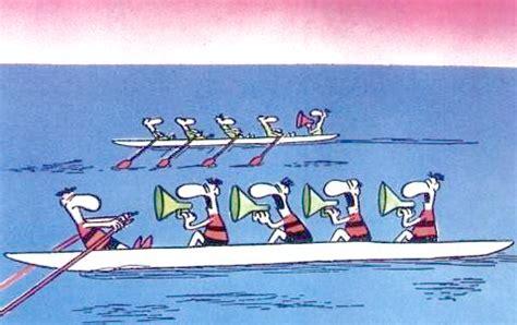 cartoon rowing boat management workers hugo ferreira