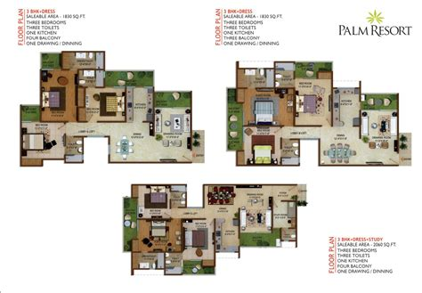 Resort House Plans by Palm Resort Floor Plans Chalet Palm Resort