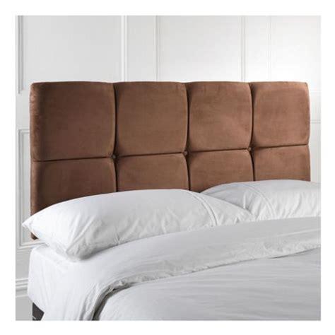 seetall headboards buy seetall king size upholstered headboard chocolate
