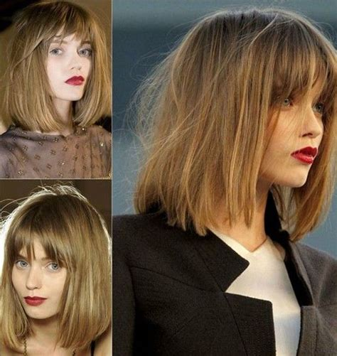 french bob oblong face 32 best short hairstyles for 2018 fine hair long bob
