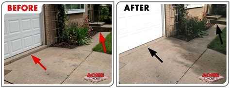 Driveways Garage Floors   Acme Concrete Raising & Repair Inc.