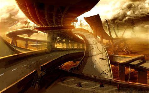 imagenes futuristas wallpaper wallpapers paisajes futuristas megapost taringa