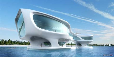 Architectural Model Kits by Marine Research Center Bali Indonesia Building E Architect