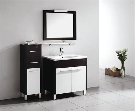 Black And White Bathroom Cabinets by L Shaped White Black Black Bathroom Storage Cabinet For