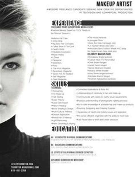aspiring makeup artist resume best 25 artist resume ideas on artist cv