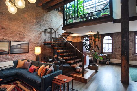 loft decor penthouse envy touring manhattan s stylish lofts lofts interiors and apartments
