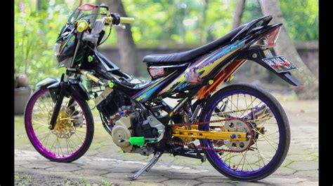 Modifikasi Motor Fu by Top Modifikasi Motor Fu Terbaru Modifikasi Motor