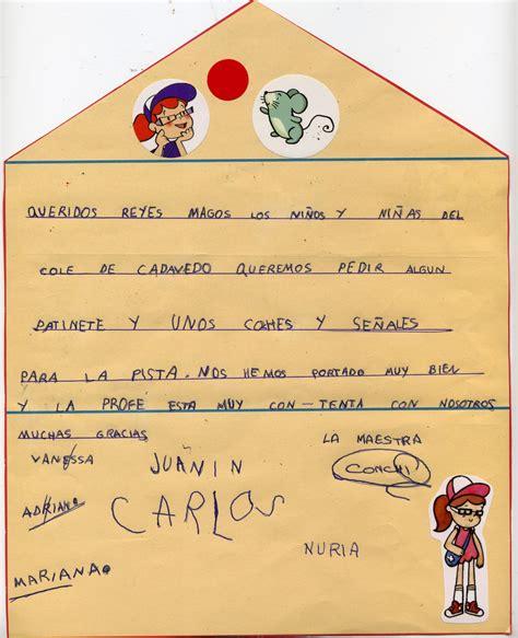fotos reyes magos para niños blog de la escuela de cadavedo carta a los reyes magos de
