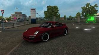 Porsche Truck Porsche 911 1 27 X Ets 2 Mods Truck Simulator 2