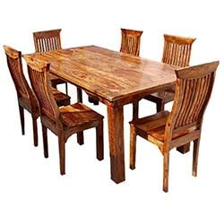 rustic dining table and chair sets living concepts