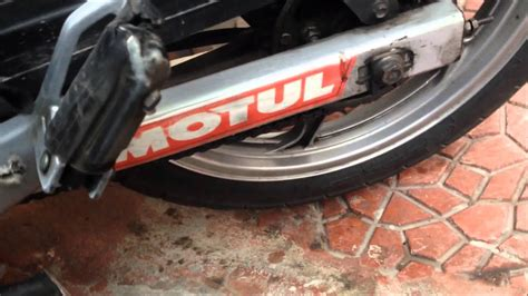motosiklet zincir ayari youtube