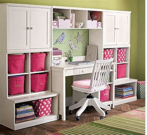 desks for kids bedrooms cameron desk wall system from pottery barn kids